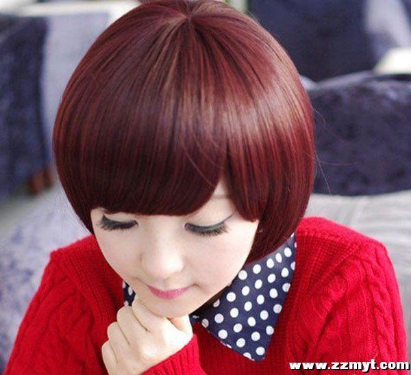 2015潮流女生短发发型