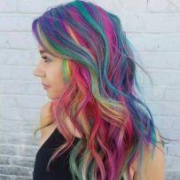 超出想象的色彩染发