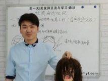 【试看片】自由女神刘聪基础造型+扎发+纹理剪烫+韩式刘海烫