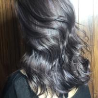 子政潮色深灰棕和紫灰挑染(共1集)