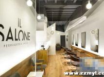 IL SALONE美发店室内设计:穿梭时光的质地感